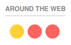 Yellow stands for pee - that's what represents the user interface on that website